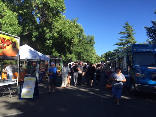 Reno Street Food is at Reno's Idlewild Park every Friday from 5 to 9 p.m.