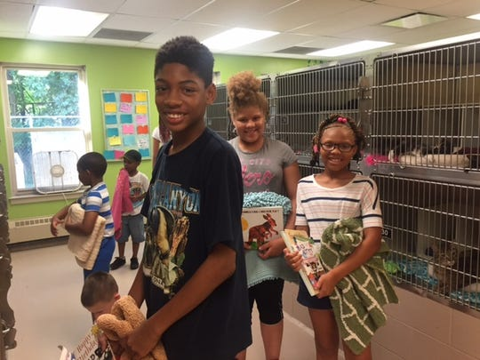 Children from Cumberland County Library's Summer Reading