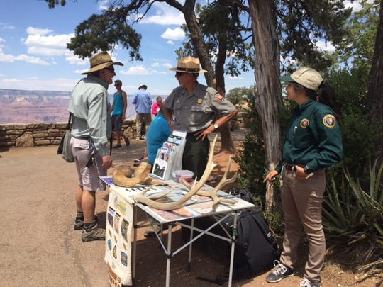 Rangers at Grand Canyon National Park are eager to