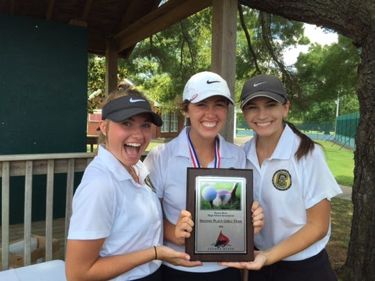 Central Magnet's girls placed second in the Stones