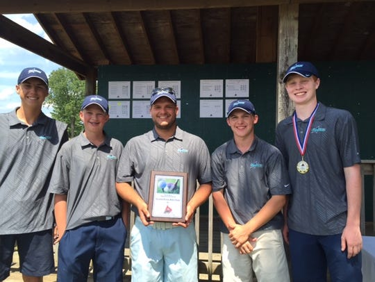 Siegel's boys finished second at the Stones River Golf