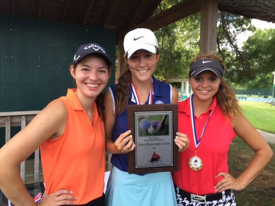 Oakland's girls finished first at the Stones River