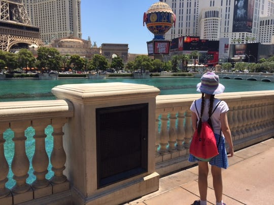 "Kids will enjoy the ""dancing waters"" at Bellagio and"