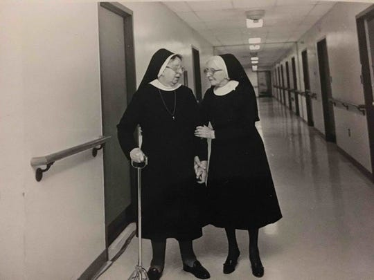 Two Sisters of Mercy who were the original residents