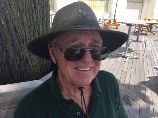 Pat Gilmartin, visiting from Florida