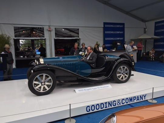 1932 Bugatti Type 55 Grand Prix, offered at Bonham's Quail Lodge Sale.