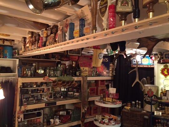 A massive collection of Stroh's memorabilia can be