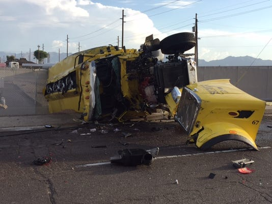Semi crash