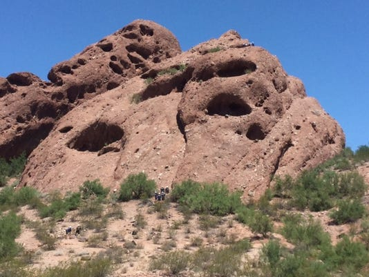 Fire crews attempt to rescue man with possible ankle fracture on Papago Mountain