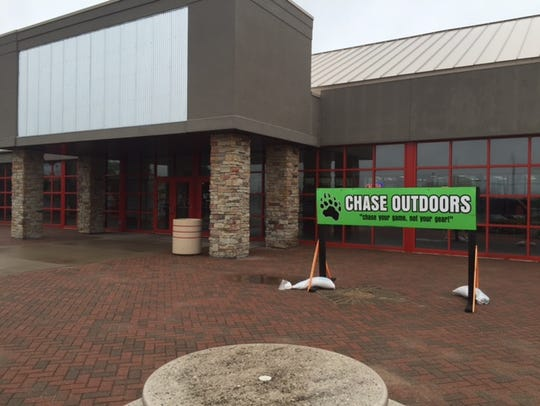 Chase Outdoors moved into Cedar Creek mall at the beginning