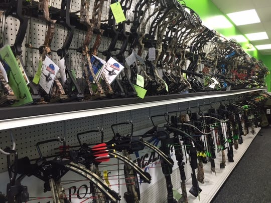 Chase Outdoors carries a large selection of bows, which