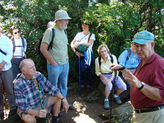 Hikers in last year's Ridgecrest Kitsuma hike learned