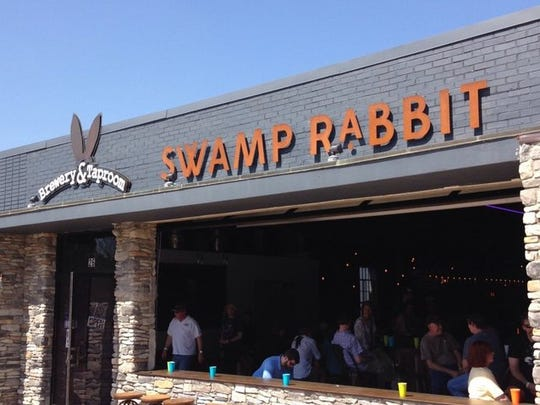 The Swamp Rabbit Brewery in Travelers Rest is located at 26 S. Main St.