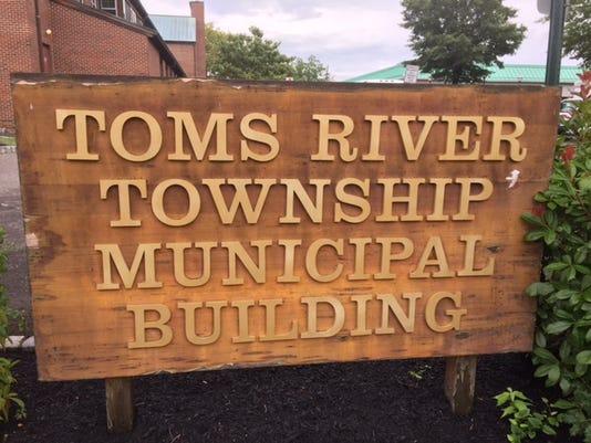 Toms River sign