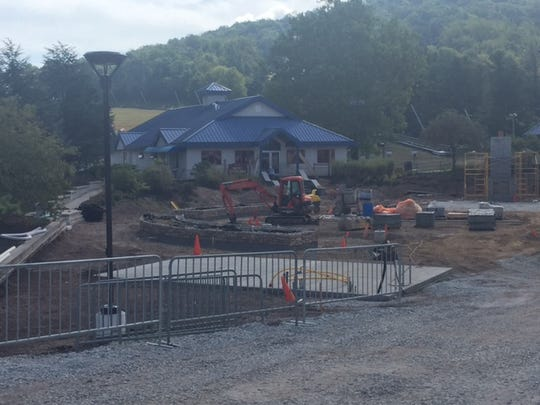 Construction at the Children's Learning Center in Carroll