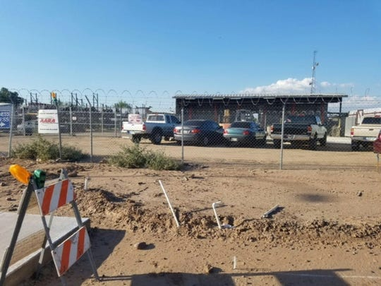 Riteway Auto Parts employees found human remains on