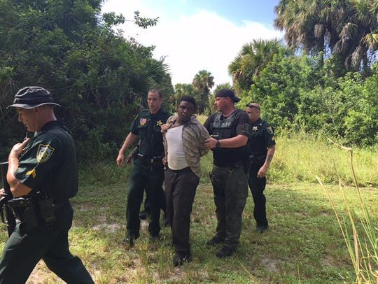 Sherman Bryant of Okeechobee was arrested Monday in