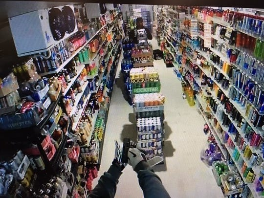 Deputies are searching for the man who robbed a Jefferson convenience store at gunpoint Saturday.