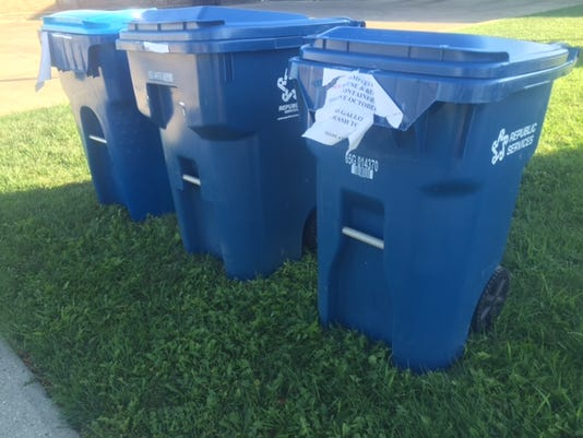 City reaches agreement with Republic Services on new trash, recycling services