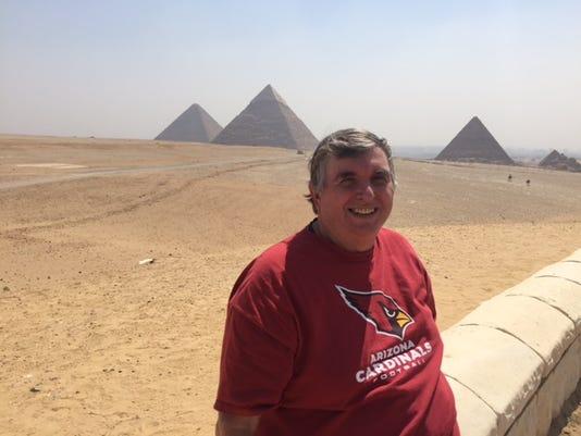 Touring Egypt