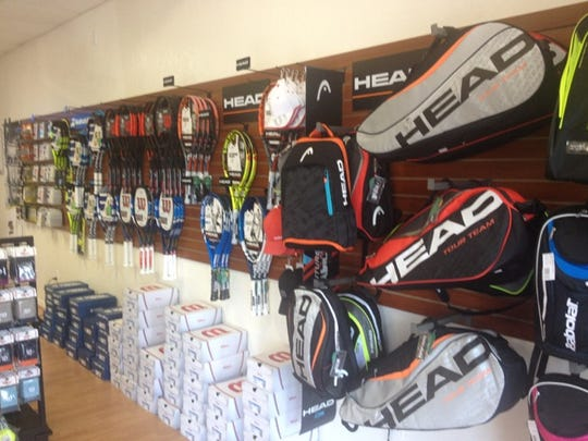 Drop Shop Tennis Shop includes rackets for all levels