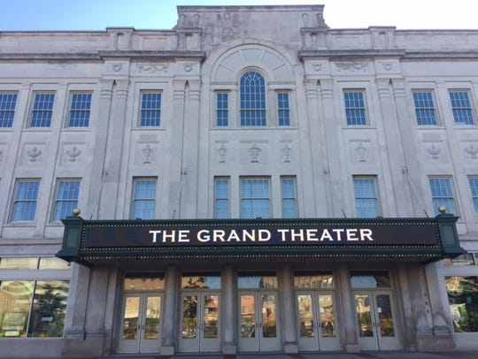 The Grand Theater is located on The 400 Block in downtown