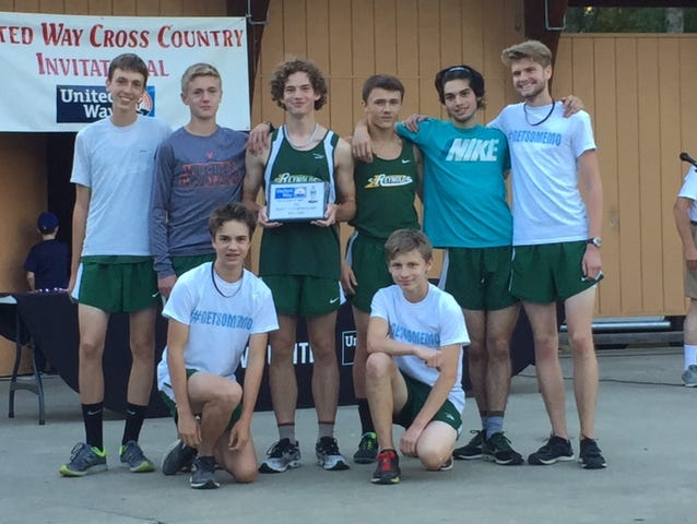 The Reynolds boys won Wednesday's United Way Invitational cross country meet in Newton.