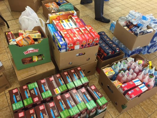 Graham Automall Mansfield >> Make A Difference food drive starts strong