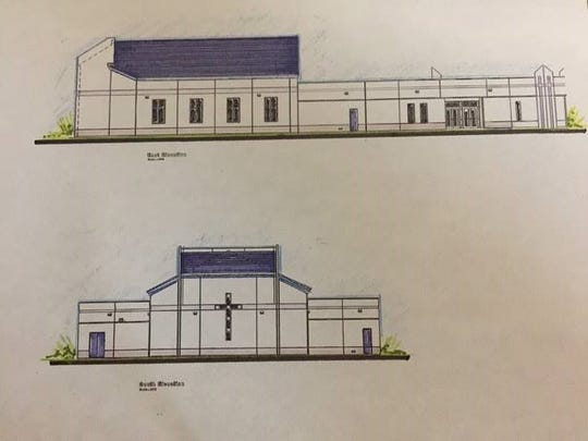 This is how the Newman Catholic Student Center expansion is expected look.