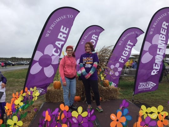 Members of Lakeside Middle School's National Junior Honor Society participated in the Cumberland County Walk to End Alzheimer's 2016 on Oct. 22 at New Jersey Motorsports Park.