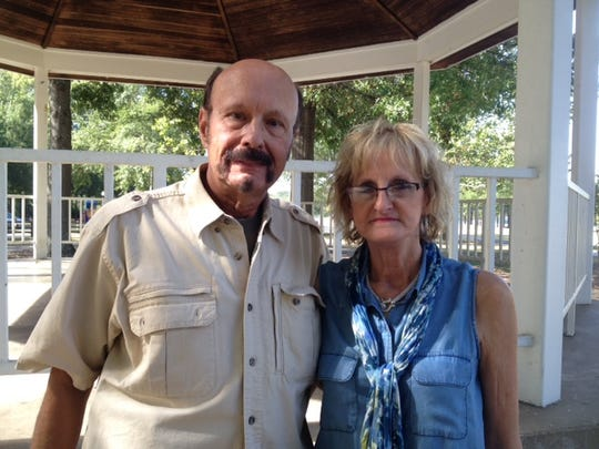William Weddendorf and his wife, Peggy, are organizing the Battle of Bartlett re-enactment event.