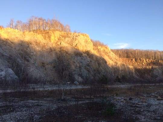 The quarry on Rib Mountain State Park is a feature in jeopardy, said Nancy Anderson.