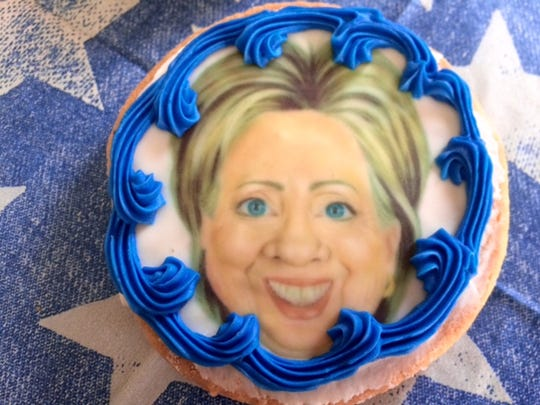 Hillary Clinton lost out to Donald Trump in Uncle Mike's Bake Shoppe's cookie poll, but customers can still buy a sweet treat featuring either candidate.