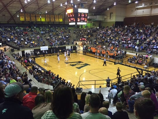 Barr-Reeve defeated Washington 55-33 on Wednesday night at the Hatchet House.
