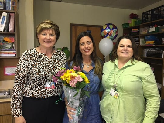 Administrators surprised Teacher of the Year finalists,