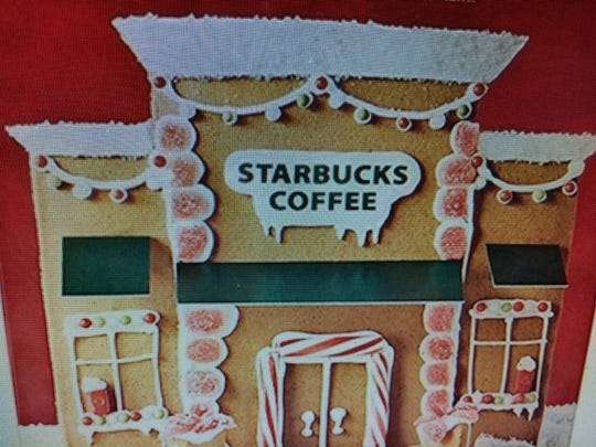 Gingerbread Starbucks where gingerbread baristas would serve gingerbread lattes.