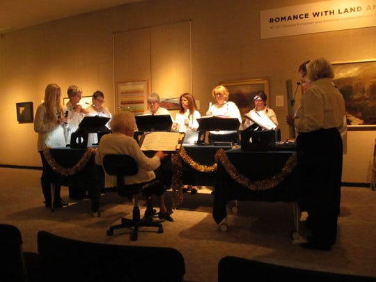 The Morningside Ringers performed last weekend as a prelude to this weekend's Winterfest.