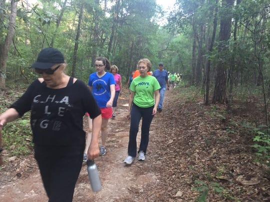 This Saturday's Move walk starts at 9 a.m.