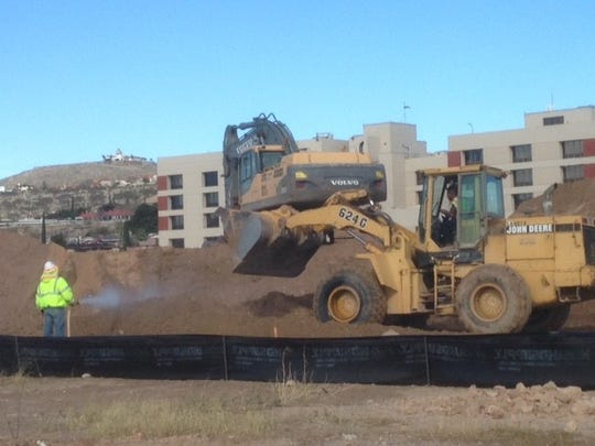 Construction is underway on the $20 million Cobalt Rehabilitation Hospital at 1700 E. Cliff Drive in Central El Paso.