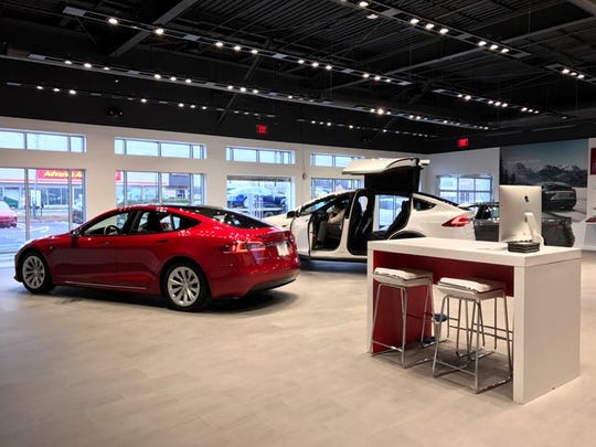 The new sleek service center in Springfield.