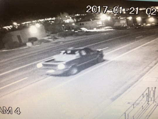 Police are looking for the vehicle in connection to a recent double murder.