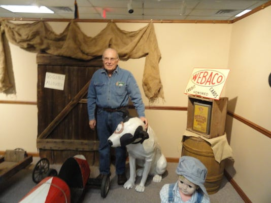 Gary Morgan at Webster Museum and Historical Society