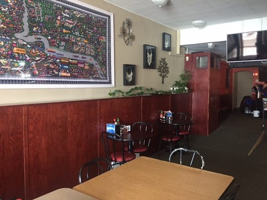 Hmong Eggroll opened in new digs on Monday, with an