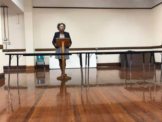 Bolton's school board representative Sandra Franklin