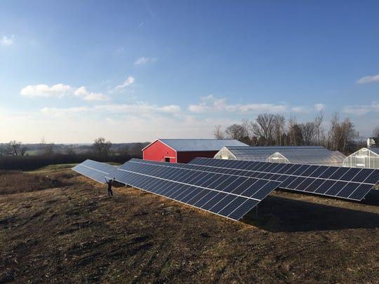 Solar Panels were installed at Tompkins Cortland Community
