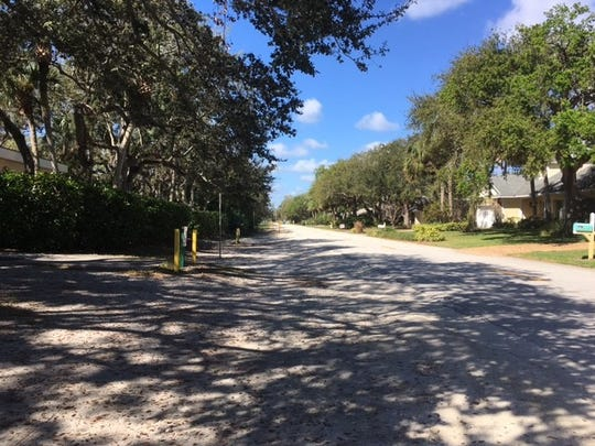 On Wednesday, drivers avoided parking on Iris Lane, after no parking signs were placed.  Drivers arriving for the 10:45 a.m. Ash Wednesday services parked in the church parking lot.