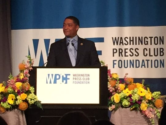 Rep. Richmond, D-La., was a featured speaker at the Washington Press Club Foundation congressional dinner March 1.