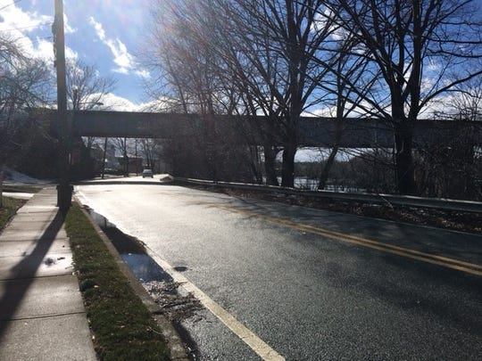This stretch of road in Lyndhurst is slated for a bike path. It's one of the projects the Passaic River Coalition hopes to jump-start with a new leader.