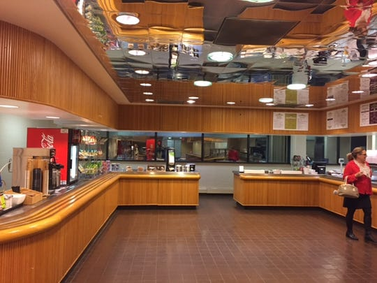 The cafeteria at the new Centenary University satellite campus at 7 Campus Drive in Parsippany.