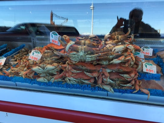 Stagnaro Brothers on the Santa Cruz Wharf is the place